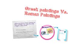 Greek Paintings & Roman Paintings
