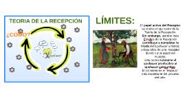 TEORÍA DE LA RECEPCIÓN