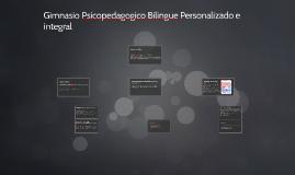 Gimnasio Psicopedagogico bilingue personalizado e integral