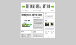 THERMAL DESALINATION