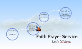 Faith Prayer Service
