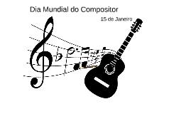 Dia Mundial do Compositor (Hot. I B I S - É v o r a )