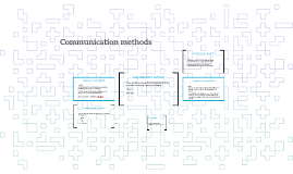 Communication methods and effective Communication