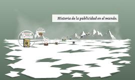 Historia de la publicidad en el mundo.
