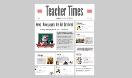Teaching With Newspaper