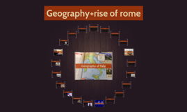Geography+rise of rome