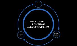 OA-DA y Políticas Macroeconómicas