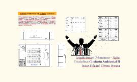 Projeto Acústico - Auditório