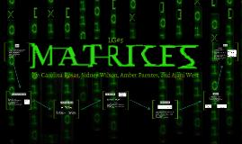 LG #5: Matrices