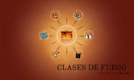 CLASES DE FUEGO