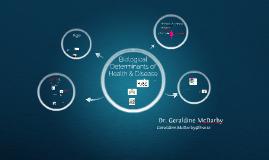 The Biological Determinants of Health & Disease PDF