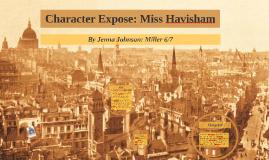 Character Expose: Miss Havisham
