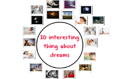 Fun Facts about dreams