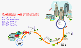 Reducing Air Pollutants