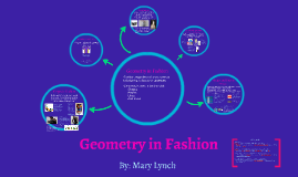 Real Geometry in Fashion