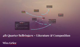 4th Quarter Bellringers ~ Literature & Composition