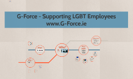 G-Force - Supporting LGBT Employees