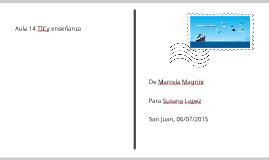 TIC y enseñanza- Marcela Magrini