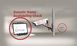 Domain Name Availability Check