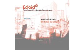 Ecloid* - Projet Marché Ambulant de Gatineau