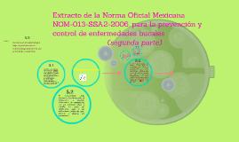 Extracto de la Norma Oficial Mexicana