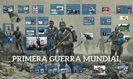 Copy of PRIMERA GUERRA MUNDIAL
