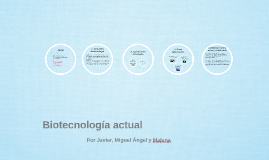 Biotecnología actual