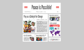 Peace is Possible!