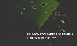 REUNION CON PADRES DE FAMILIA