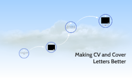 Making CV and Cover letters Better