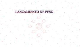 LANZAMIENTO DE PESO