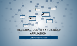 THE MORAL IDENTITY AND GROUP AFFILIATION