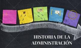 Copy of LINEA DEL TIEMPO DE LA ADMINISTRACION
