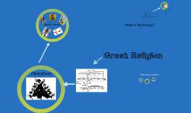 Greek Religion and Myth