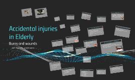 Accidental injuries in Elderly