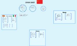 CHINA SWOT