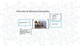 Energy Efficiency Markets