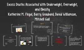 Excess Deaths Associated With Underweight, Overweight, and O