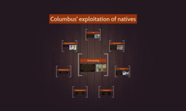 Columbus' exploitation of natives