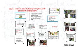 Copy of SOSYAL BİLGİLER ÖĞRETİMİNDE SINIF İÇİNDE SINIF DIŞI EĞİTİM E