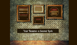 Your resume: a second look