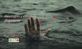 Abordagem a vítimas de afogamento