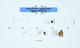 January 18, 2017 - Academic Chapel