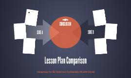 Lesson Plan Comparison