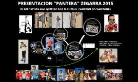 PRESENTACION PANTERA ZEGARRA 2015