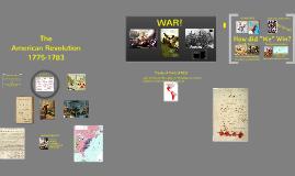 Unit 3 - The American Revolution
