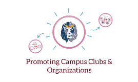 Promoting Campus Clubs & Organizations