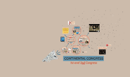 1st and 2nd Contential Congress