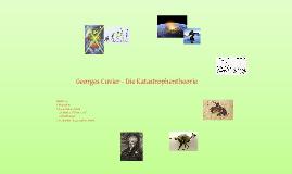 Georges Cuvier - Katastrophentheorie
