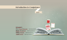 IntroductiontoCompetency